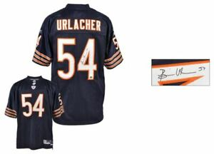 Brian Urlacher Autographed Jersey | Details: Chicago Bears, Reebok, Replithentic