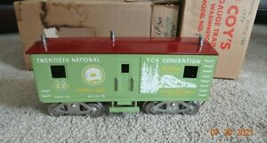 McCoy Standard gauge Train 1974 Seattle Supply car 1000-74 with Boxes - EXC
