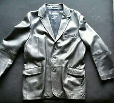 Giorgio Armani Mens Leather Jacket