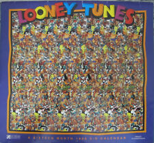 Looney Tunes 1996 Calendar 16 Month 3-D Art