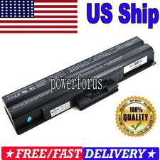 Battery for Sony Vaio VGP-BPS13A/B VGP-BPS13B/Q VGP-BPS21A VGN-SR36MN/B 6 Cell