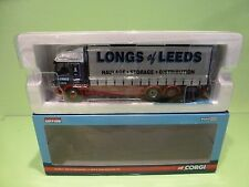 CORGI TOYS CC13613 DAF CF CURTAINSIDE - J. LONG & SONS HAULAGE 1:50 - EXCELLENT