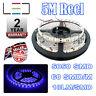 5M 24v BLUE LED STRIP LIGHT 5050 300SMD 18LM/SMD 60SMD/m BRIGHT IP65 WATERPROOF