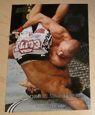 Georges St-Pierre 2011 Topps Title Shot UFC Card #100 Champion GSP 65 83 94 124