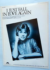 ANNE MURRAY Sheet Music I JUST FALL IN LOVE AGAIN Columbia Publ. 70's POP