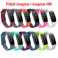 For Fitbit Inspire / Inspire HR Replacement Silicone Wristband Strap Watch Band