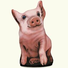 Pig Soft Sculpture Shaped Doorstop or Pillow