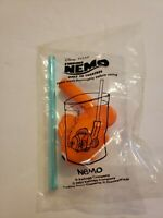 Disney Pixar Finding Nemo Straw 2003 Kellogg Company Cereal Promotion New in bag