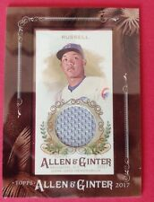 2017 TOPPS ALLEN GINTER ADDISON RUSSEL MINI FRAMED RELIC JERSEY MR-ARU