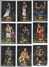 1997/98 Topps 40 - 39 Cards Incl/ Michael Jordan,Hardaway,Garnett,Barkley +++,