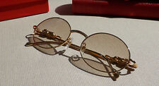 Cartier Custom Panther Series With Stones 2012 Square Lens Buffalo Glasses