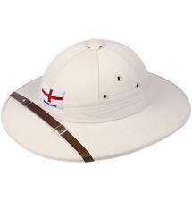 English Army Pith Helmet African Safari Hunter Archaeologist  Hat UK