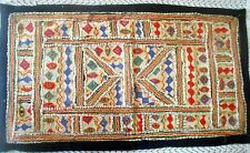 Wall Hanging Vintage Tapestry India Handmade Embroidered Patchwork R1