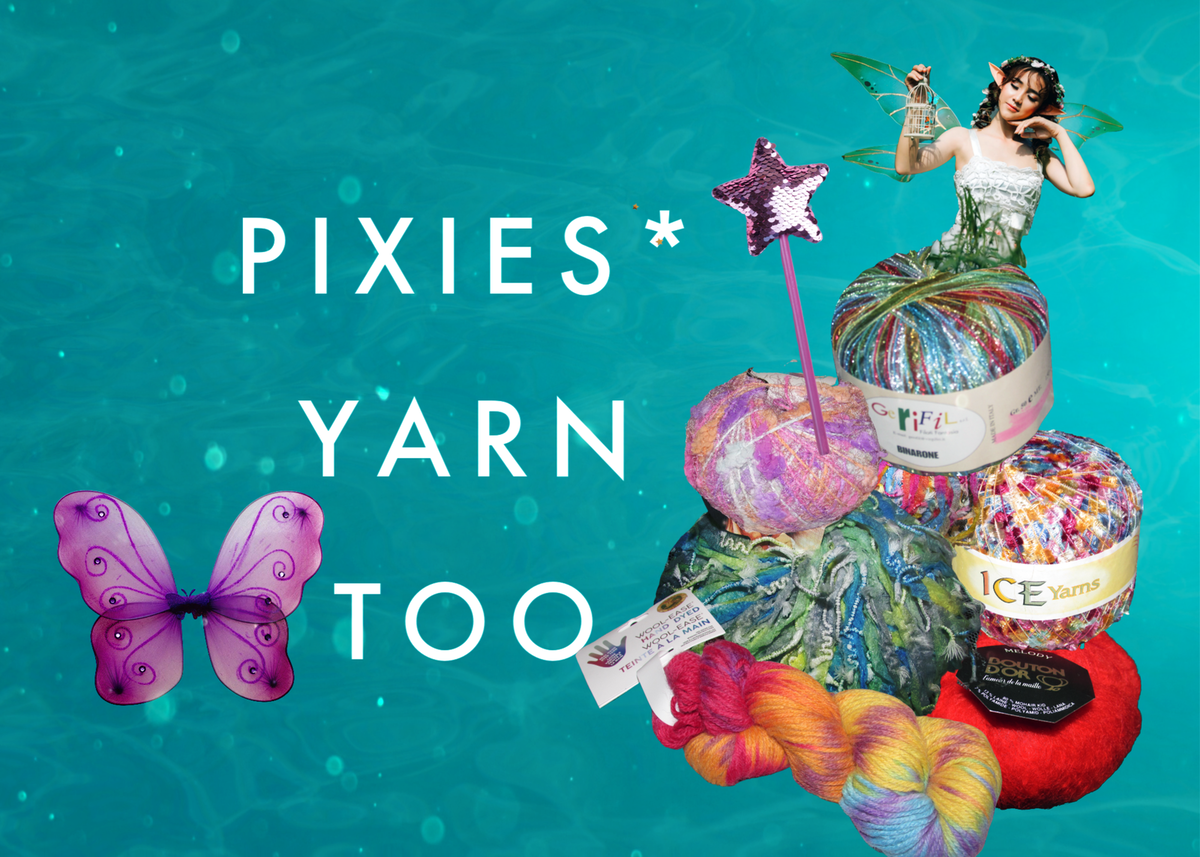 Pixies* Yarn Too