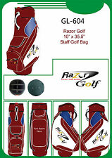 "Razor Golf Tour 10"" Staff Golf Bag"