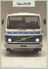 Volvo F4 F6 Prospekt 9/78 1978 Lkw brochure Nutzfahrzeug Lastwagen Broschüre