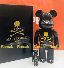 Medicom Be@rbrick 2019 Mastermind World Black version 400% + 100% bearbrick set
