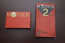 Famicom Earthbound Mother 1 2 boxed Japan Import FC SFC games US Seller