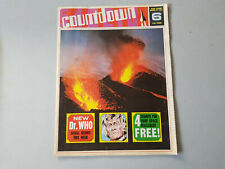 COUNTDOWN COMIC No. 6 from 1971 with FREE GIFT WALLCHART STAMPS