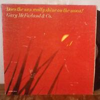 Gary McFarland & Co. Does the Sun Really Shine on the Moon LP Skye GD+