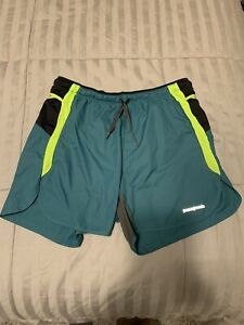 "Patagonia Strider Pro Mens 5"" Shorts Size Small"