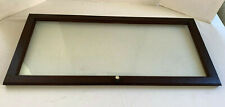 Antique Gunn Barrister Bookcase Door Mahogany Original Finish and Wavy Glass #1