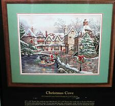 CHRISTMAS COVE cross stitch kit Dimensions GOLD COLLECTION   NIP