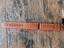Officine Panerai Strap 22/20mm Brown Alligator -silver Original Alligator