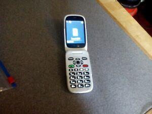 Doro 6520 Mobile Phone, Colour Black/White