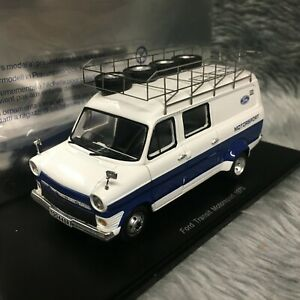 Spark 1:43 Ford Transit Mk1 Ford Motorsport Rally Barge 1979 S0292