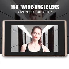 """4.3"""" 720P HD LCD Video Digital Door Peephole Doorbell Viewer Camera Night Vision"""