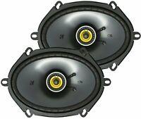 """Kicker CSC684, CS Series 6x8"""" 2 Way Coaxial Car Speakers  (46CSC684)"""