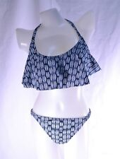 Bongo bathing suit  top and bottom swimwear set size L