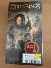 The Lord of the Rings: The Return of the King vhs brand new sealed