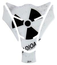 CUSCINETTO SERBATOIO 3d radioactive WHITE 500762 universalmente corrispondente SERBATOIO MOTO PROTEZIONE