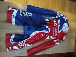 Adidas British Cycling Great Britain Team GB Skinsuit XL Vintage Retro