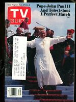 TV Guide Magazine September 29-October 5 1979 Pope John Paul II VG ML 121216jhe