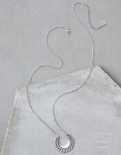 American Eagle outfitters AEO SILVER METAL PENDANT NECKLACE