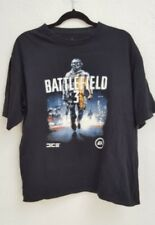 Battlefield 3 Soldier Black T-Shirt Ea Video Game Adult Size Xl game