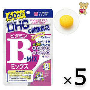 ☀[ 5pack set ]DHC Vitamin B Mix Supplement 60 days 120 tablets F/S