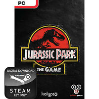 JURASSIC PARK THE GAME PC AND MAC STEAM KEY