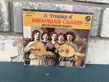 A TREASURE of GREGORIAN CHANTS: Gran Prix Du Disque  LN 4 CD Set