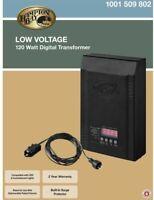 Hampton Bay Low-Voltage 120-Watt Landscape Transformer New 1001 509-802