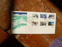 1992 ROSS DEPENDENCY NEW ZEALAND FIRST DAY COVER SET OF 6 STAMPS  SEALS