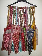 Beuteltasche Damen Tasche Schultertasche Seide Hippie Boho Retro Umhängetasche