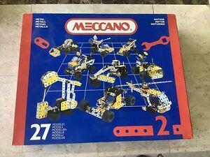 Meccano No 2 Set,1990s,looks complete and unused.