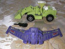 Transformer Hasbro Takara 1984 G1 Scrapper Constructicon Devastator Complete