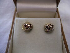 Clogau Yellow Gold Precious Metal Earrings without Stones