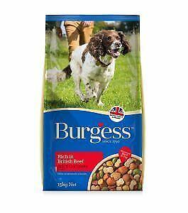 Burgess Adult Dog Beef 15kg - 10604