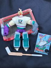 VTG Mighty Ducks Animated Wildwing Goaiel Power Save Figure & Accessories